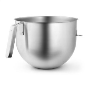 KitchenaidKitchenAid® 7 Quart NSF Certified Polished Stainless Steel Bowl with J Hook Handle - Stainless Steel