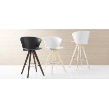 Colourful polypropylene stool