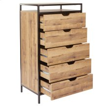 Quinton 5-drawer Nightstand