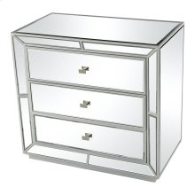 Multi-faceted 3-drawer Chest