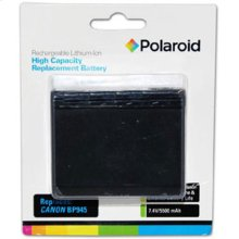 Polaroid High Capacity Canon BP-945 Rechargeable Lithium Replacement Battery