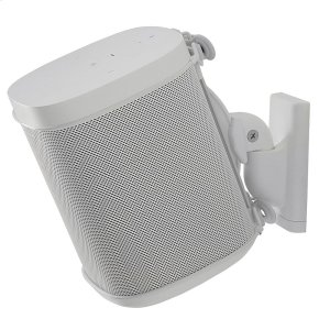 SonosWhite- Secure and adjustable wall mount.