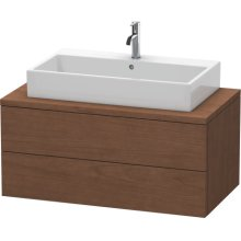 Delos Vanity Unit For Console, American Walnut (real Wood Veneer)