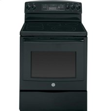 "Floor Model - GE® 30"" Free-Standing Electric Convection Range"