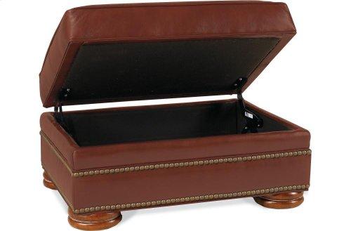 Ashby Storage Ottoman (Leather)