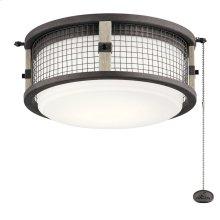 Ahrendale LED Outdoor Light Kit Weathered Zinc