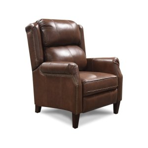 England Furniture Leather Kora Recliner With Nails 1k31aln