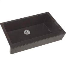 "Elkay Quartz Luxe 35-7/8"" x 20-15/16"" x 9"" Single Bowl Farmhouse Sink with Perfect Drain"