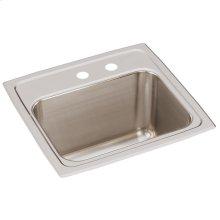 """Elkay Lustertone Classic Stainless Steel 17"""" x 16"""" x 10-1/8"""", Single Bowl Drop-in Sink"""