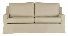 Slip Covered Sofa - Wheat Finish
