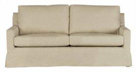 Slip Covered Sofa - Wheat Finish