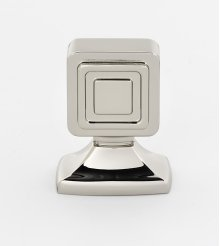 Cube Knob A986-1 - Polished Nickel