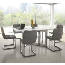 Lloyd White/Galyn 7pc Dining Set