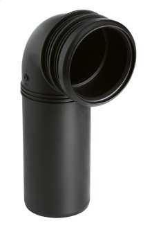 PP-outlet elbow (DN 90)
