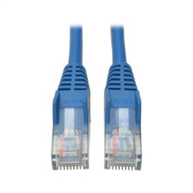 Cat5e 350MHz Snagless Molded Patch Cable (RJ45 M/M) - Blue, 2-ft.