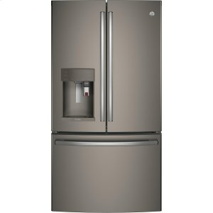 GE ProfileSeries ENERGY STAR® 22.2 Cu. Ft. Counter-Depth French-Door Refrigerator with Keurig® K-Cup® Brewing System