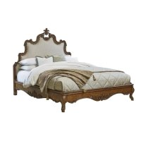 Tyrolean Upholstered Queen Bed Product Image