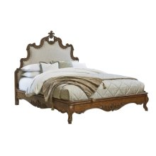 Tyrolean Upholstered Queen Bed