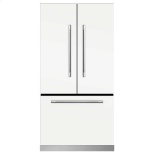 MarvelMarvel Mercury French Door Counter-Depth Refrigerator - Marvel Mercury French Door Refrigerator - White