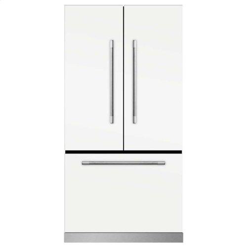 Marvel Mercury French Door Counter-Depth Refrigerator - Marvel Mercury French Door Refrigerator - Gloss Black
