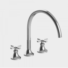 Series 110 Roman Tub Set with Stella X Handle (available as trim only P/N: 1.110877T)