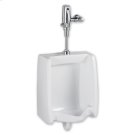 Washbrook 0.5 gpf Washout Top Spud Urinal & Automatic Battery Flush Valve - White Product Image