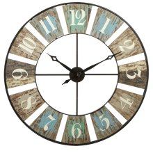 Weathered Wall Clock
