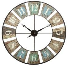 Weathered Wall Clock