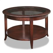 Chocolate Bronze Round Coffee Table #10037 Product Image