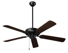"""Outdoor Series Ceiling Fan, 52"""" Diameter, in Barbeque Black Finish"""