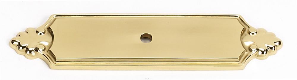 Bella Backplate A1454 - Polished Brass