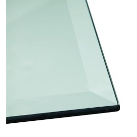 Rect Clear 44x76 Glass Top