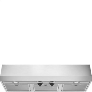 "Smeg36"" Pro-Style, Under Cabinet Hood, Stainless Steel"
