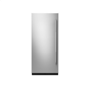 "Jenn-Air36"" Built-In Column Refrigerator with RISE Panel Kit, Left Swing"
