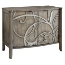 Veranda 2 Door Cabinet with Raised Scroll Detail Product Image