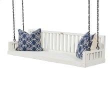 Jo's White Ferguson Porch Swing