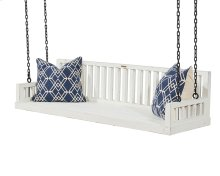 Jo's White Ferguson Porch Swing