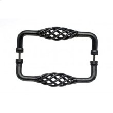 Birdcage Door Pull Back to Back 8 Inch (c-c) - Pewter