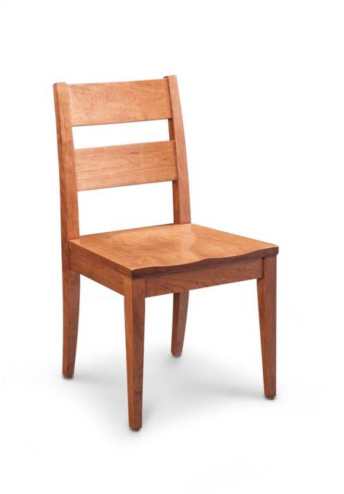 Cadira Side Chair, Wood Seat