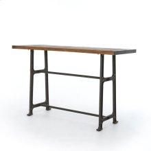 Bar Size Bleached Oak Finish Alistair Bar + Counter Table