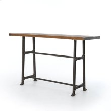 Bar Table Size Bleached Oak Finish Alistair Bar + Counter Table