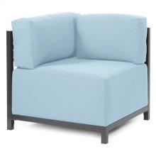 Axis Corner Chair Seascape Breeze Titanium Frame