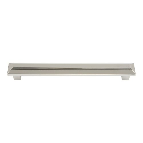Trocadero Pull 6 5/16 Inch (c-c) - Polished Nickel