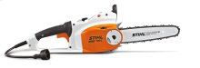 A durable corded electric chainsaw with power to spare.