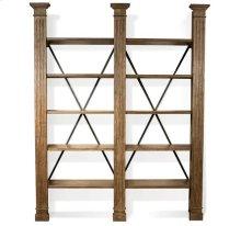 Northcote Bookcase Heathered Oak finish