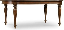 """Leesburg Leg Table with Two 18"""" Leaves"""