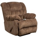 Massaging Columbia Mushroom Microfiber Rocker Recliner with Heat Control Product Image
