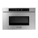 """Dacor24"""" Microwave-In-A-Drawer, Silver Stainless Steel"""