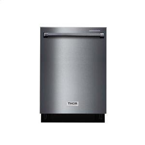 "Thor24"" Black Stainless Steel Dishwasher"