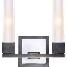 Visual Comfort S2155BZ-CG Ian K. Fowler Kendal 2 Light 9 inch Bronze Decorative Wall Light